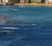 Se usará un dron para estudiar la Barra de Las Canteras