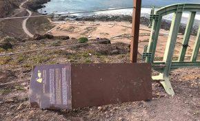 Las cuevas de Los Canarios, un BIC arqueológico abandonado