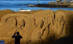 Últimos días para ver el Belén de arena