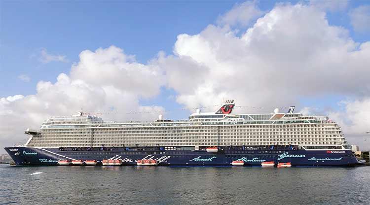 Cinco barcos, Marella Dream, AIDAnova, Zenith, Mein Schiff 1 y  Mein Schiff 1, llegan a la ciudad entre el sábado y el domingo