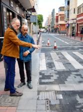 El Ayuntamiento culmina la mejora de la movilidad de la Calle Grau Bassas en el tramo situado junto a la Plazoleta Farray