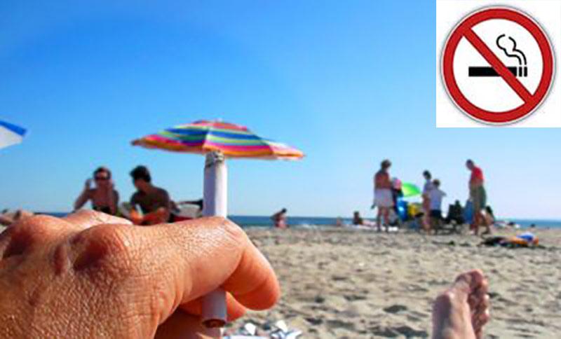 La prohibición de fumar en Las Canteras también será para los cigarros electrónicos.