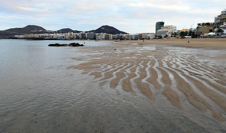 Las lenguas de arena avanzan hacia la Barra