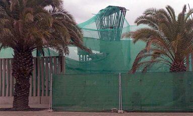 Se reinician los trabajos en la pasarela Onda Atlántica