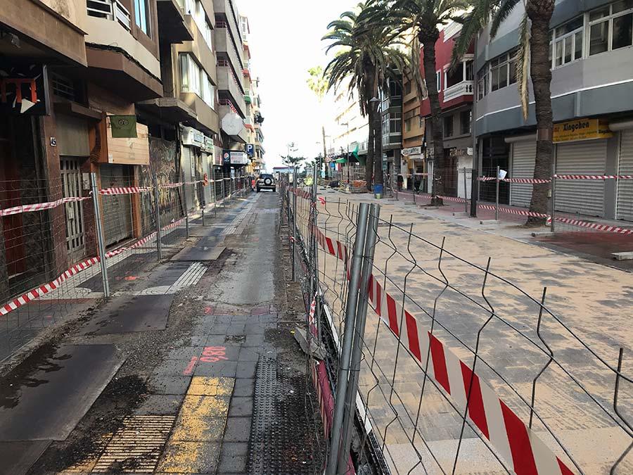 Luis Morote espera por su total peatonalización