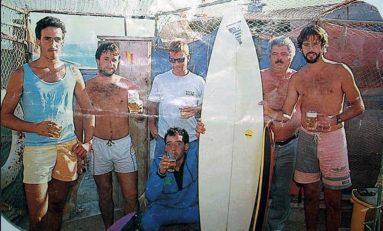 Ambiente en El Confital de los años 90
