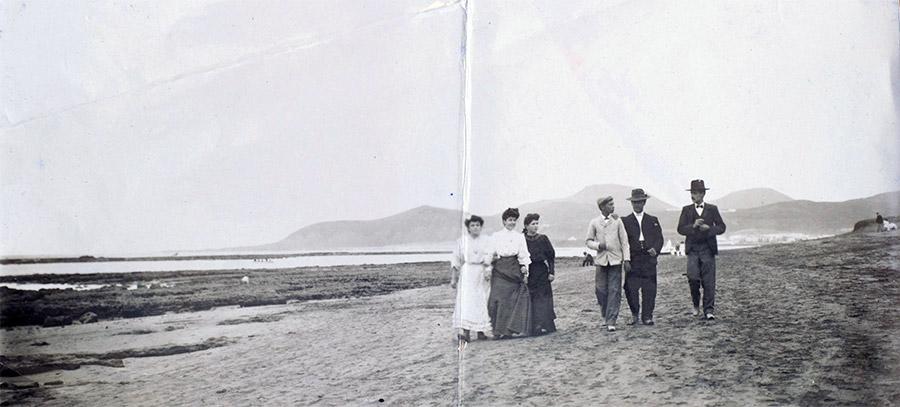 Paseando a principios de siglo XX por El Charcón