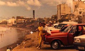 Cuando los coches llegaban a la playa de la Cicer