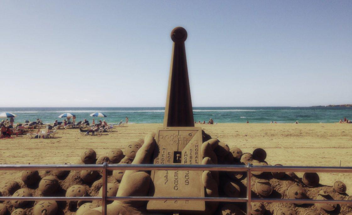 La última escultura de Etual Ojeda