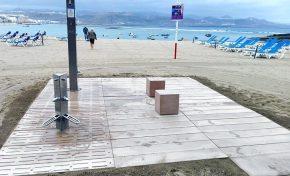 Ciudad de Mar recibe 160.000 euros del Cabildo de Gran Canaria para nuevos equipamientos en ellitoral de la ciudad