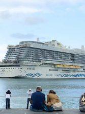 La ciudad espera a cinco cruceros entre el sábado y el domingo en plena fiesta del Carnaval