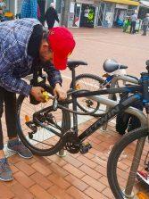 Pillado fotográficamente el ladrón de bicicletas de Las Canteras