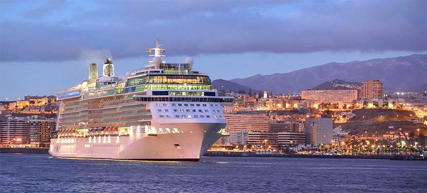 Las Palmas de Gran Canaria recibe en estos días al Boudicca, el Azura, el Independence of the Seas y el Sapphire Princess