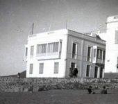 La Playa Chica y la casa del Muro Marrero