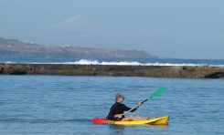The sea kayak: an adventure on the horizon
