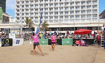 La playa de Las Canteras se convierte esta semana en capital del tenis playa mundial con la celebración del SAND SERIES ITF BEACHTENNIS GRAN CANARIA