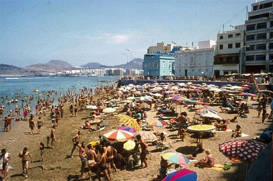 La Playa Chica en los 80-90