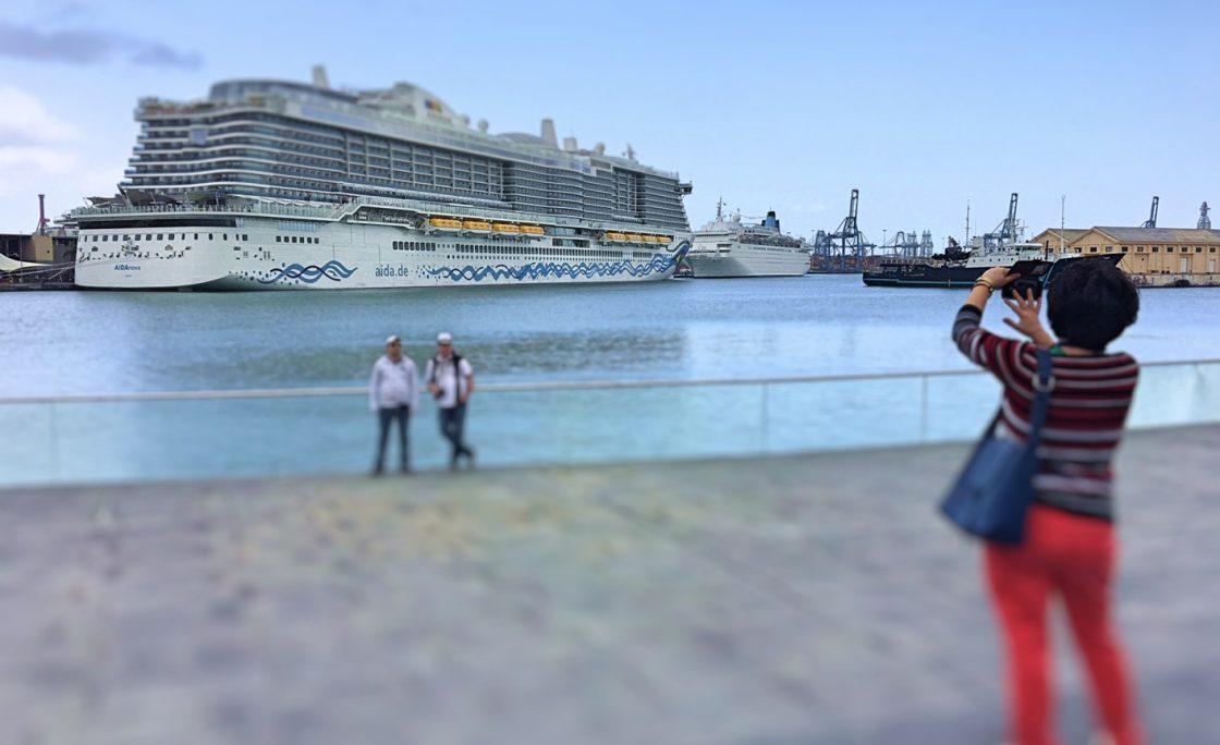 Once cruceros recalan en Las Palmas de Gran Canaria entre el viernes y el martes