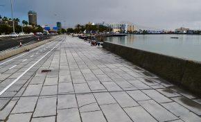 El Ayuntamiento culminará en las próximas semanas las obras de la II y III Fase del Frente Marítimo de Santa Catalina