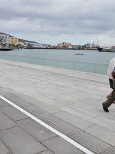 El Ayuntamiento abre al público el tramo del Frente Marítimo del Muelle de Santa Catalina situado junto a la Base Naval