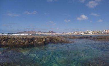 Una visión de Las Canteras desde la Barra Amarilla