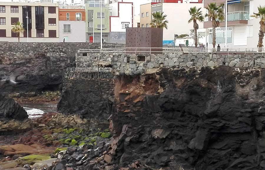 """Se retirará el monumento """"Luces en el Vacío"""" del roque de la Cruz por su inestabilidad"""