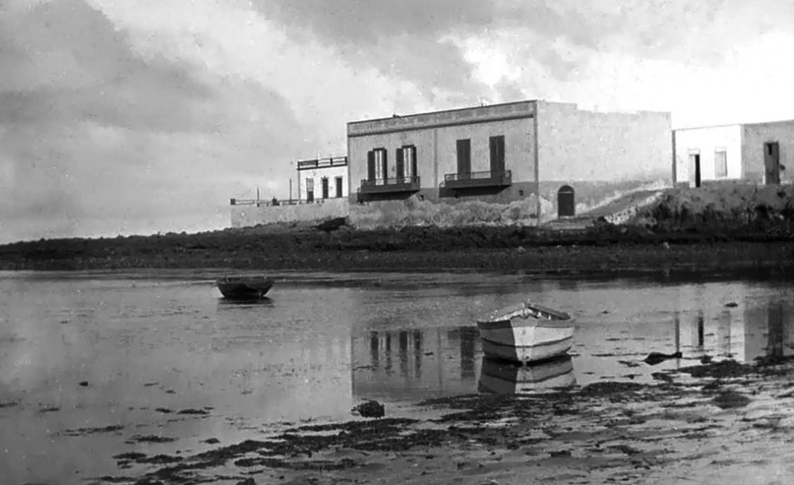 Las casas de La Puntilla en 1895