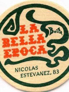 "Posavasos de ""La Bella Época"""
