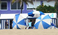 Manuel Santana, toda una vida en la playa