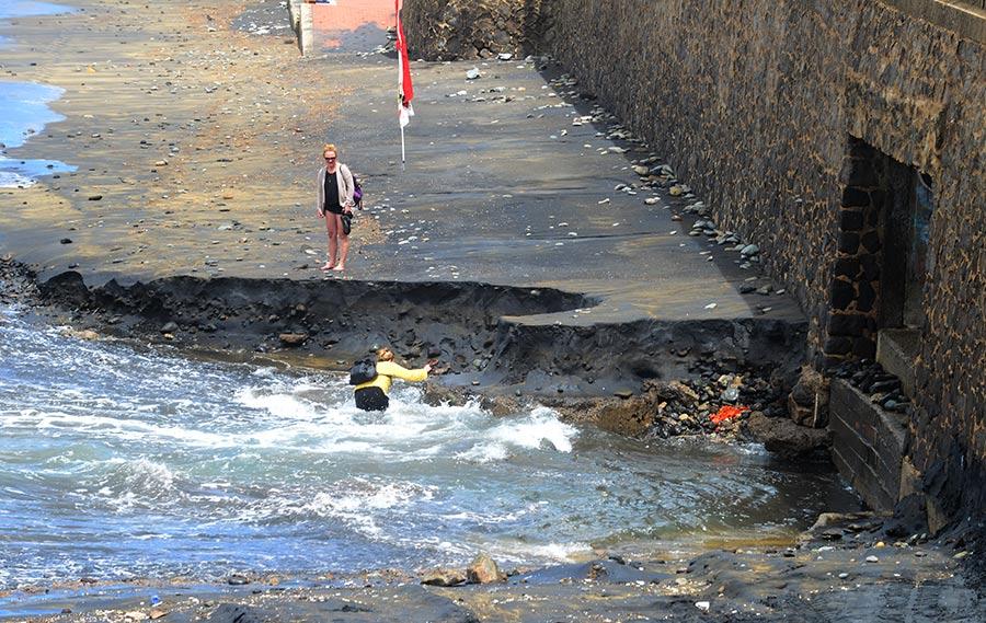 Las correntías sucias hacia la playa, la enfermedad sin cura de la Cicer