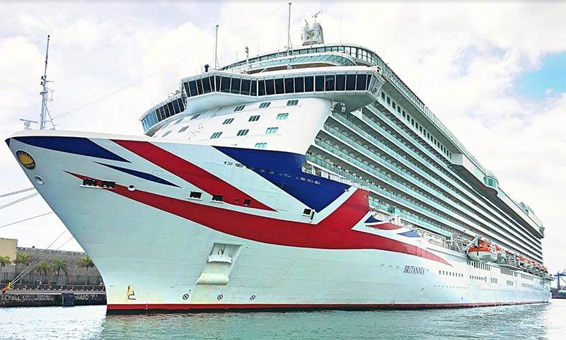 Los cruceros completan el último fin de semana de escalas simultáneas de la temporada en Las Palmas de Gran Canaria