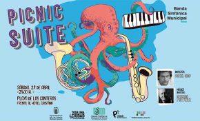 """27 de abril """"Concierto Picnic Suite"""" en Las Canteras"""