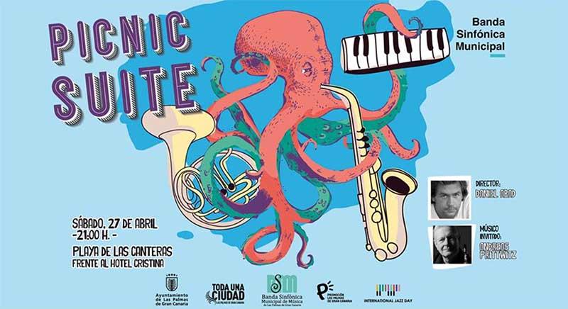 27 de abril «Concierto Picnic Suite» en Las Canteras