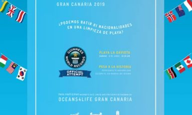 Gran Canaria pretende batir el 'Récord Guinness' de número de países participando a la vez en una limpieza de playa.