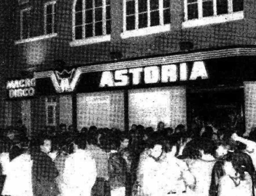 """La """"Macro Disco Astoria"""""""