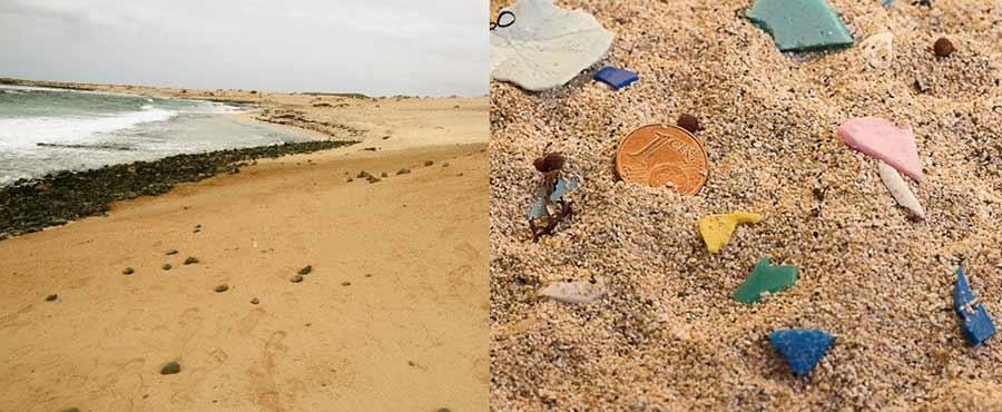 Los microplásticos contaminan las playas de un espacio protegido canario