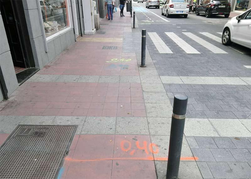 """Red Eléctrica perforará en breve las """"relucientes"""" aceras del entorno de Farray y Betancores"""