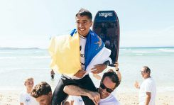 Canarias, tercera en el Campeonato de España de Surfing 2019 de selecciones autonómica