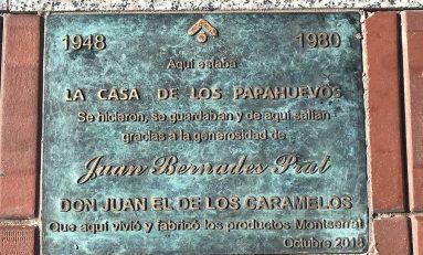 """Una placa en el paseo de Las Canteras nos recordará al entrañable Juan """"el de los caramelos"""""""
