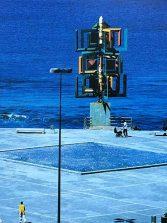 La desaparecida fuente de la plaza de La Puntilla