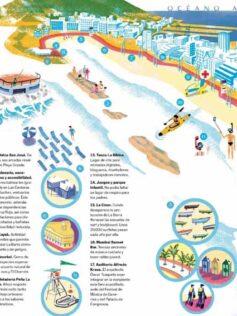 El Viajero de El País destaca a Las Canteras como un modelo de convivencia