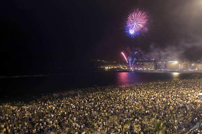 El concierto por San Juan en la arena de Las Canteras pendiente de la autorización de Costas