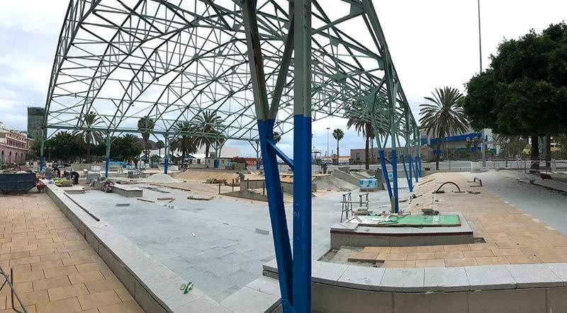 El 19 de julio (aplazada al jueves 25) se inaugurará el nuevo skatepark del Refugio