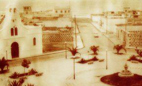 La plaza del Pilar de Guanarteme en los años 50