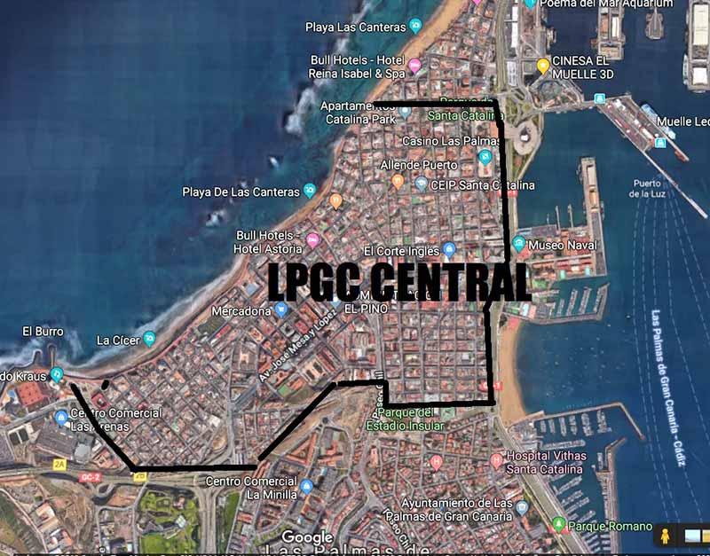 """Los Verdes ha propuesto la puesta en marcha de """"Las Palmas Central"""""""