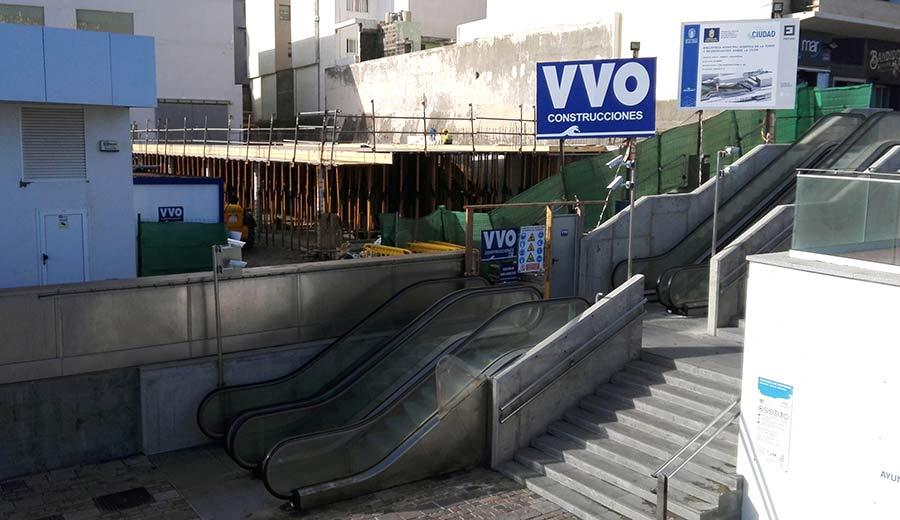 El Ayuntamiento licita las obras para completar la construcción de la nueva biblioteca Josefina de la Torre