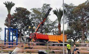 El Ayuntamiento instalará dos nuevas piezas de la Pasarela del Puerto Onda Atlántica