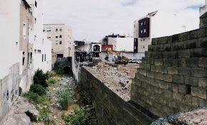 El crecimiento de Guanarteme hará desaparecer otro tramo del Barranco de la Ballena