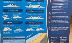 """Paneles con el """"código del surfing"""" se instalarán en las bajadas a la playa de la Cicer"""