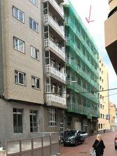 Gracias al negocio de las viviendas vacacionales se renovará uno de los edificios más deteriorados de Las Canteras